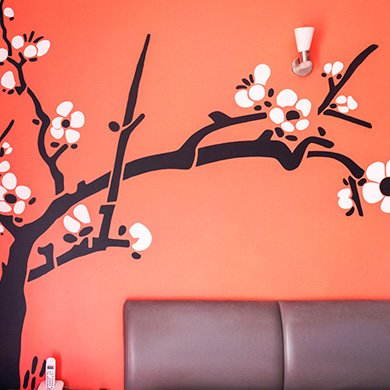 Wall stencils painting for home