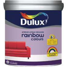 Rainbow Colours paint prices