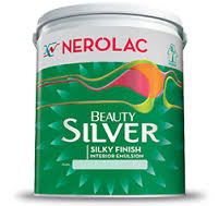 nerolac paint Beauty Silver price 1 litre, 20 litre price, colors shades, 4 list
