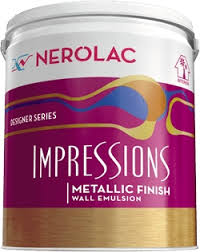 Impressions Metallic Finish paint prices