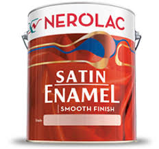 NEROLAC SATIN ENAMEL  paint prices