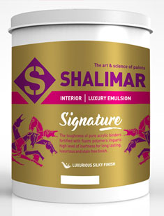 Signature Emulsion paint prices